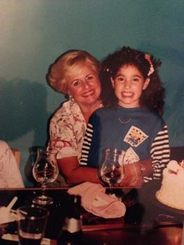 Susan and me